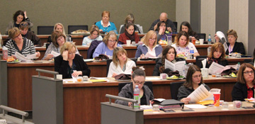 photo of Participants in Social-Emotional Assessment/Evaluation Measure training